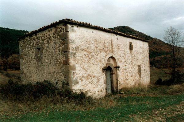 Ermita de Santa María de las Montañas. 2000
