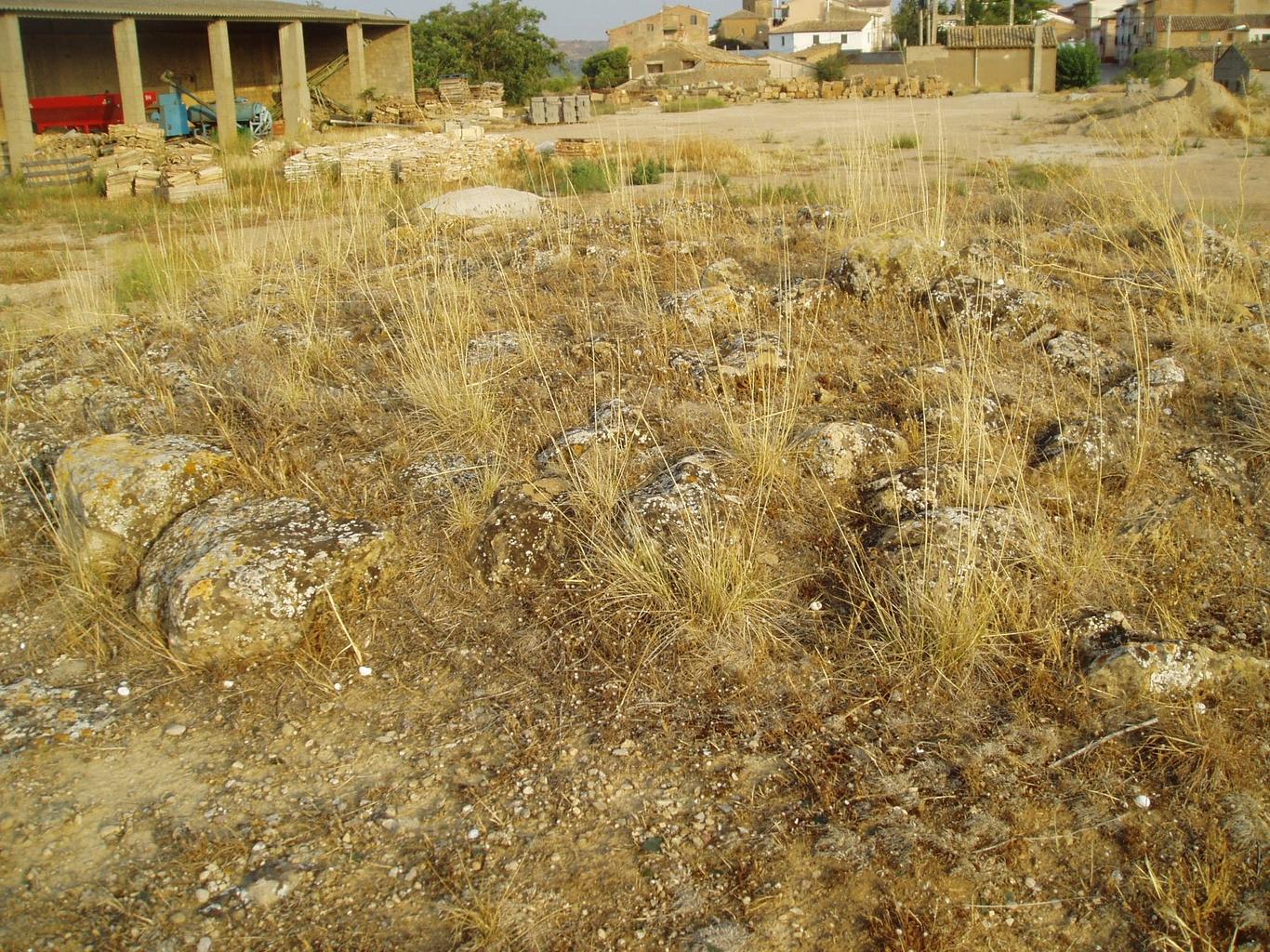 Parte superior del pozo