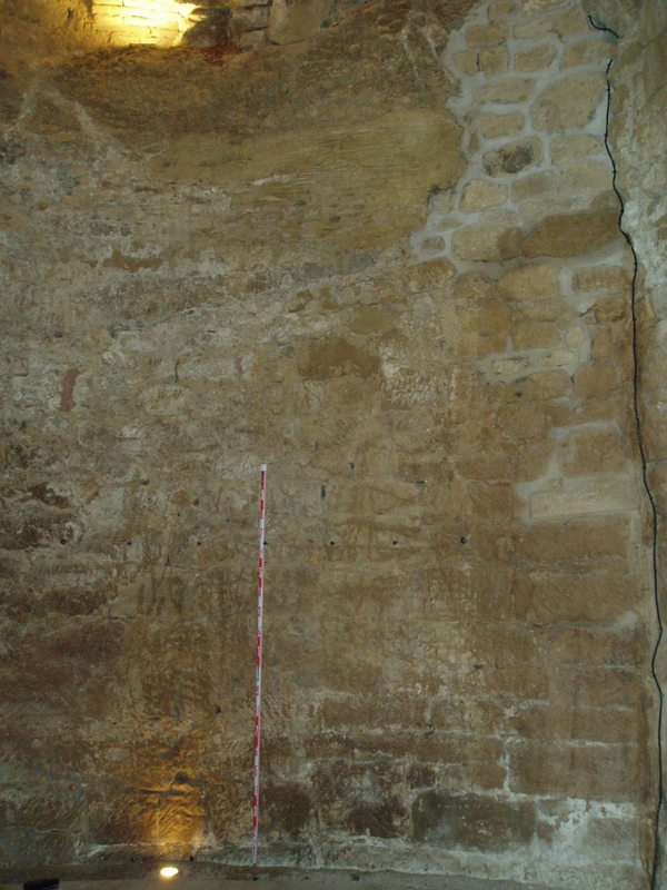 Aparejos de las paredes del pozo
