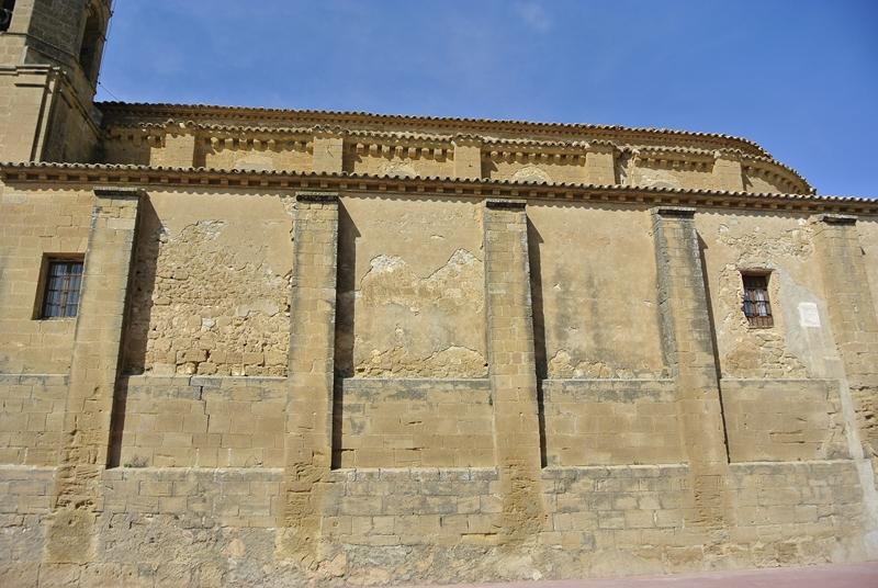 Muro meridional. Lado de la Epístola