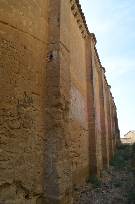 Muro septentrional. Lado del Evangelio