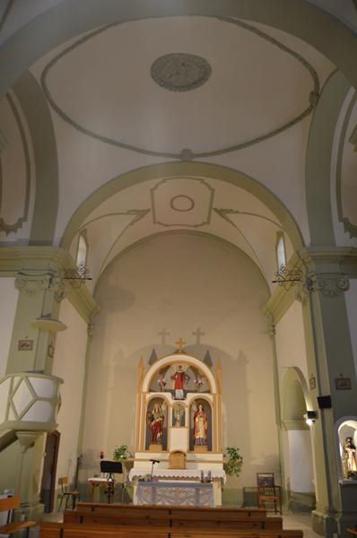 Cabecera y altar mayor