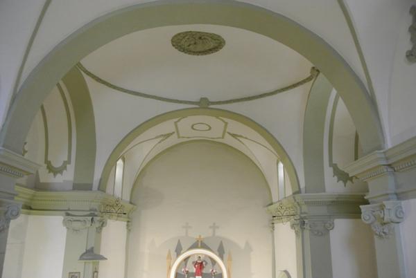 Bóvedas altar mayor y crucero