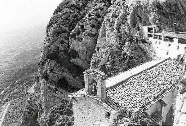 Ermita y casa del santero. 1979