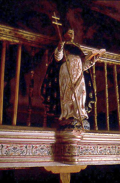 Coro. Detalle de la balaustrada. 1997