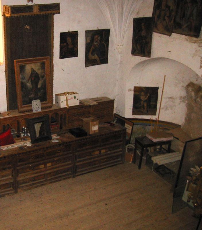 Sacristía. 2002