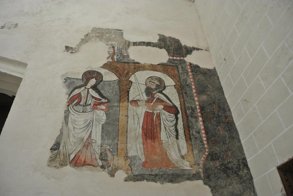 Pintura mural iglesia