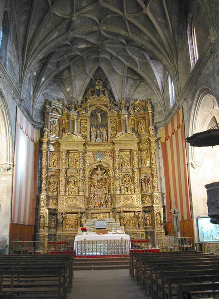 Retablo mayor. 2002