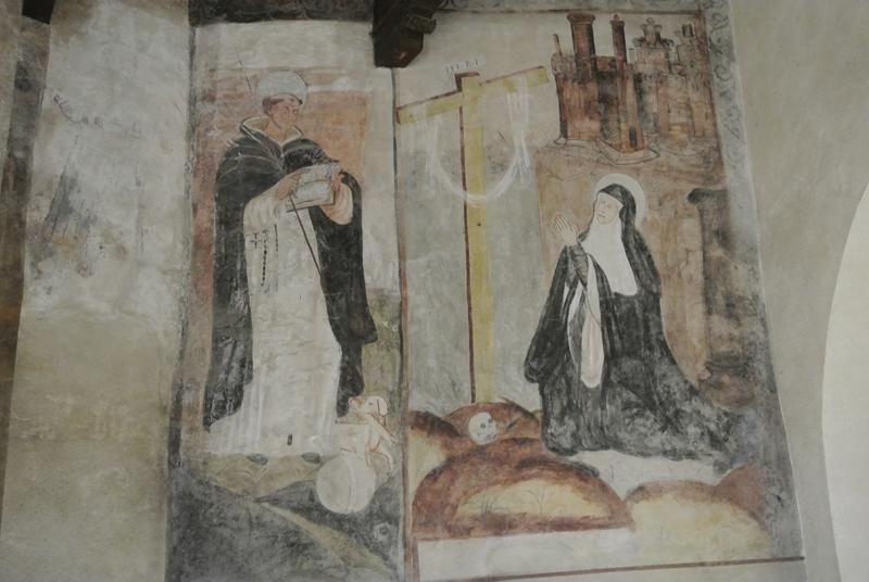 Pinturas murales claustro