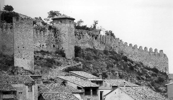 Muralla y torre albarrana. 1997