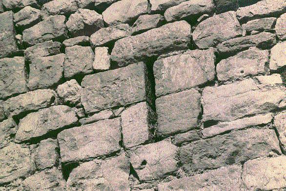 Muralla. Aspillera. 1997