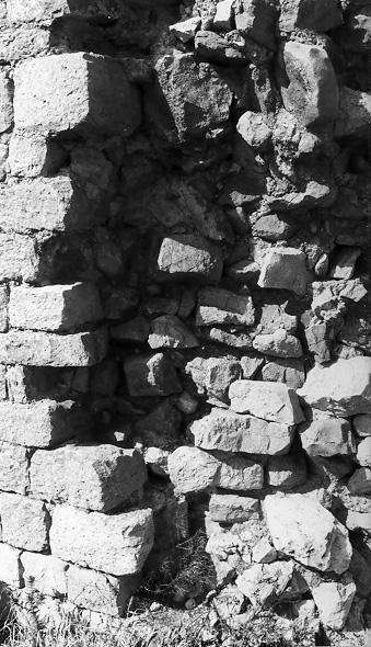 Torre superior. Detalle del aparejo. 1997
