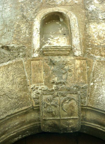 Escudo de la capilla