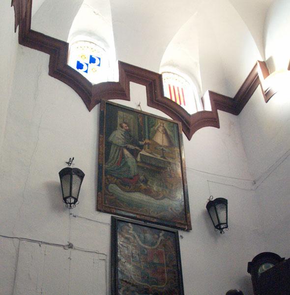Bóveda sobre la escalera