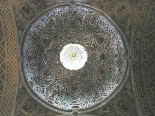 Capilla de la Parroquieta. Cúpula. 2002