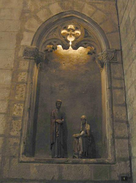 Vano gótico en el interior. 2002