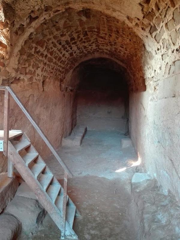 Interior aljibe