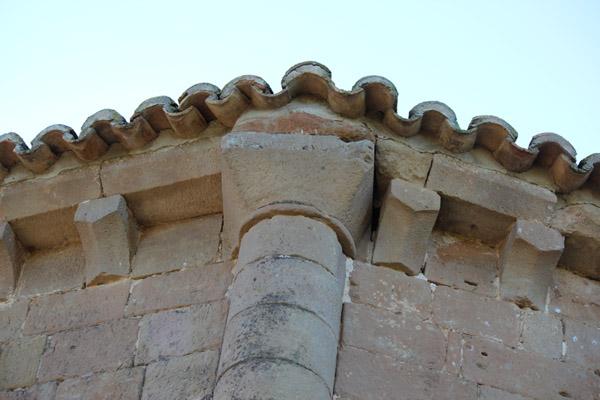 Capitel ábside exterior