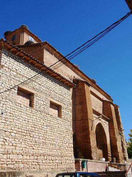 Lanaja. Iglesia de la Asunción