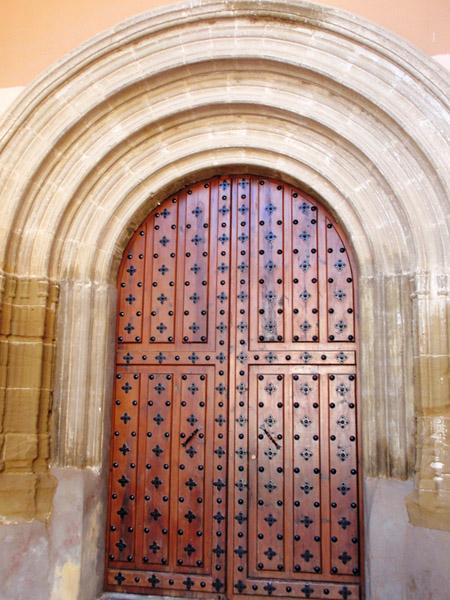 Sena. Iglesia Asunción de Ntra. Señora. Puerta