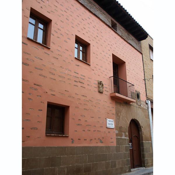 Villanueva de Sijena. Casa natal de Miguel Servet.