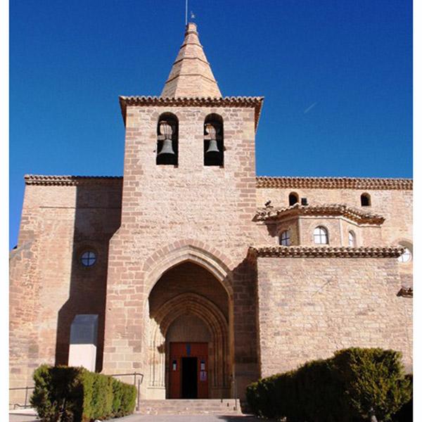 Villanueva de Sijena. Iglesia S.Domingo y Salvador