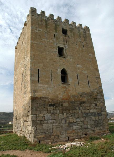Muro oriental de la Torre de los Frailes