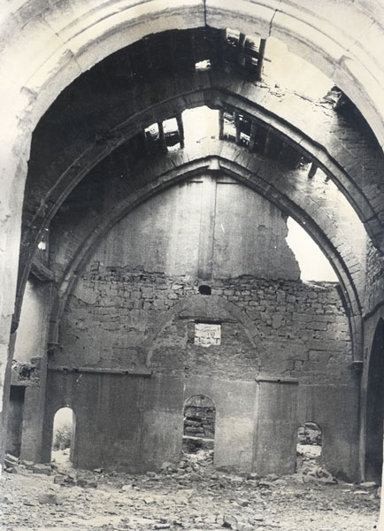 Interior iglesia San Miguel
