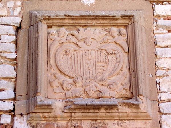 Escudo en la fachada