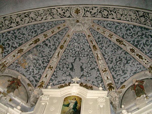 Bóveda de la cabecera