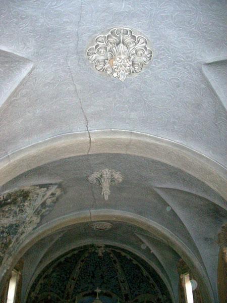 Bóvedas de la nave central