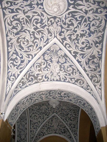 Bóvedas de una nave lateral