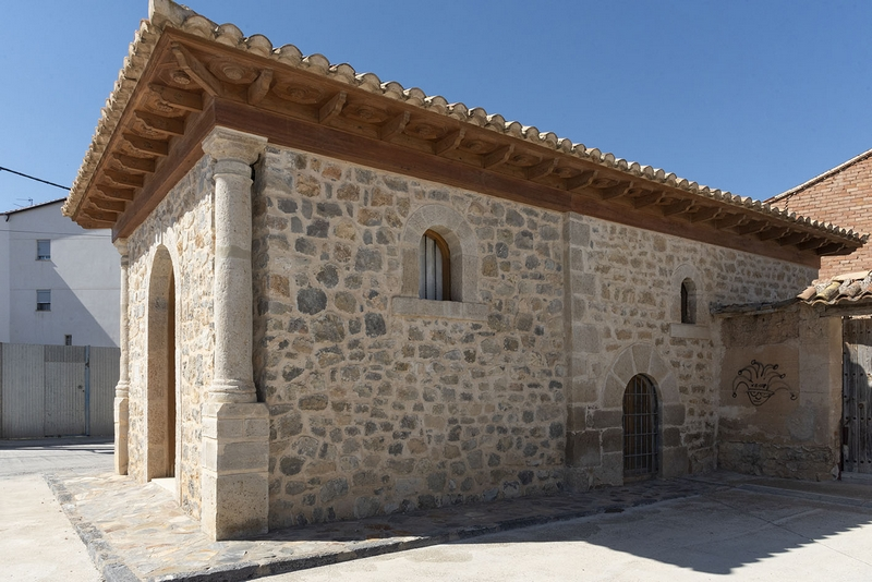Vista exterior de la ermita