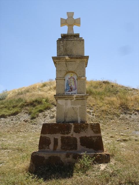 Faceta con la imagen de San Blas