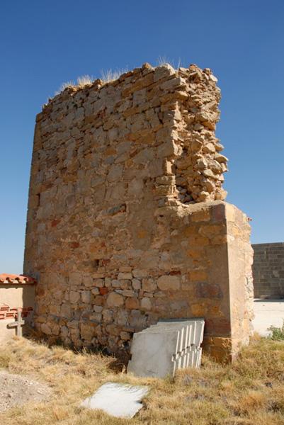 Posible muro del castillo