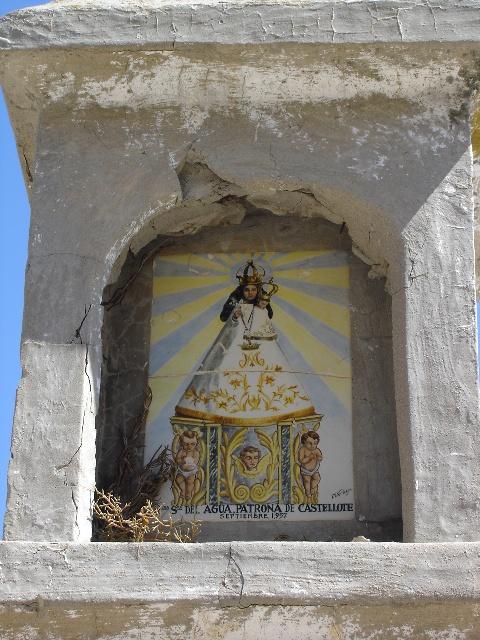 Imagen de la Virgen del Agua