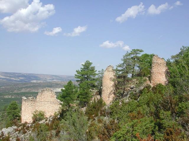 Vista exterior del castillo