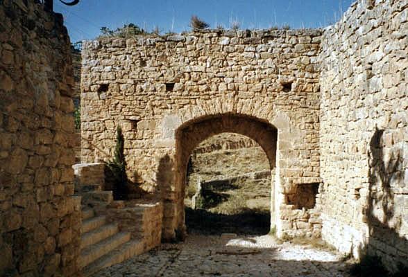 Uno de los portales. Interior