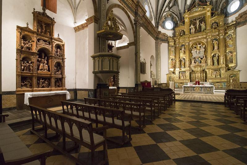 Interior. Lado del Evangelio
