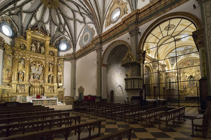 Interior. Lado de la Epístola