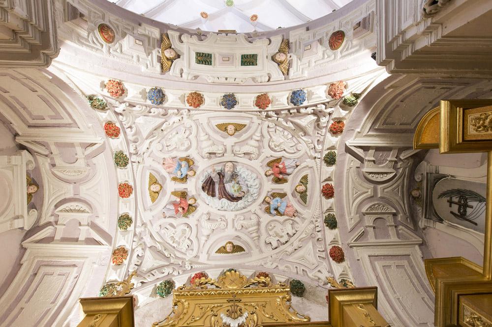 Cúpula de la capilla del Santo Cristo