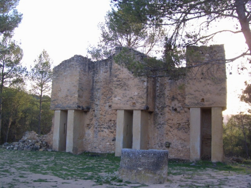 Molino de la ermita de San Pedro Mártir