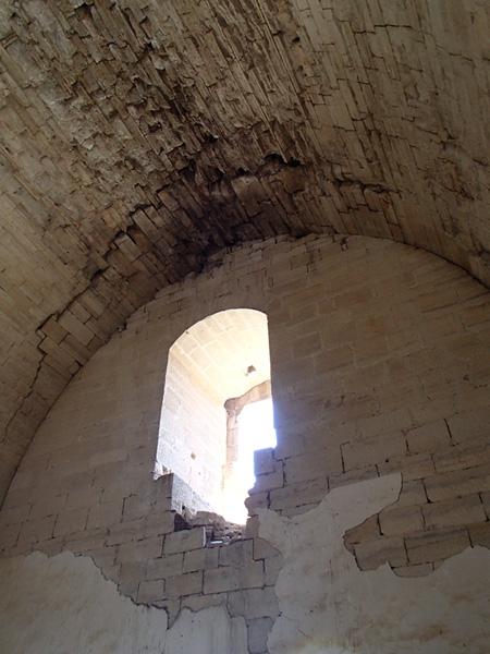 Torre del Homenaje. Sala abovedada