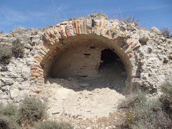 Estructura conservada en el interior