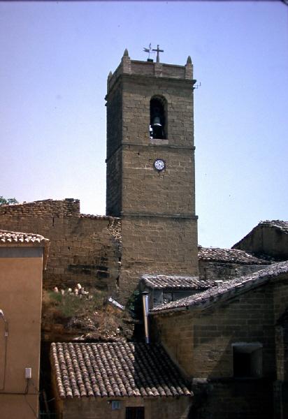 Vista exterior de la torre