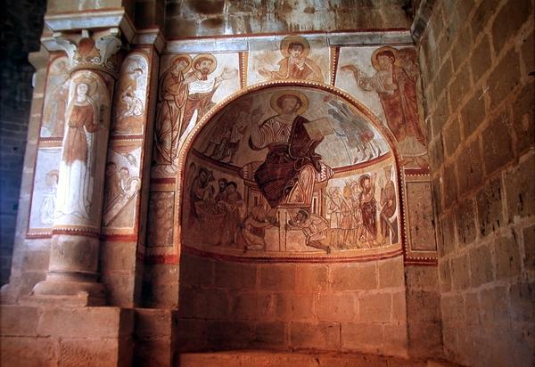 Pinturas del interior