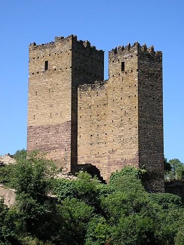 Torres y lienzo de muro