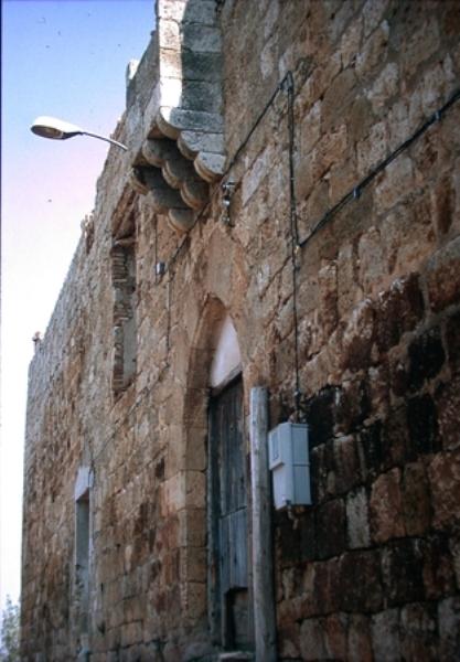 Vista del muro norte