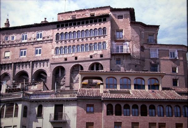 Vista de la fachada meridional