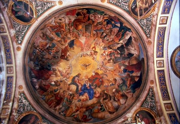 Vista interior cúpula
